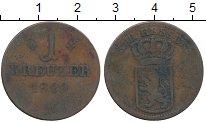 Изображение Монеты Гессен-Кассель 1 крейцер 1829 Медь VF