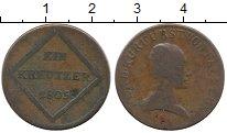 Изображение Монеты Германия Зальцбург 1 крейцер 1805 Медь VF