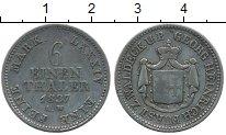 Изображение Монеты Германия Вальдек-Пирмонт 1/6 талера 1837 Серебро XF-