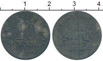 Изображение Монеты Германия : Нотгельды 10 пфеннигов 1918 Цинк XF- Брауншвайг.