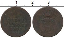 Изображение Монеты Германия Шаумбург-Гессен 1 пфенниг 1830 Медь VF