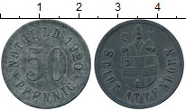 Изображение Монеты Германия : Нотгельды 50 пфеннигов 1920 Цинк XF Аттендорн