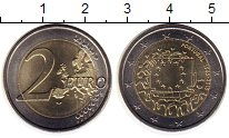 Изображение Монеты Европа Португалия 2 евро 2015 Биметалл UNC