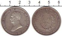 Изображение Монеты Южная Америка Уругвай 50 сентесим 1917 Серебро XF