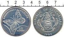 Изображение Монеты Сейшелы 25 рупий 1994 Серебро UNC