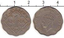 Изображение Монеты Индия 1 анна 1941 Медно-никель VF Георг VI