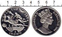 Изображение Монеты Гибралтар 1 крона 1994 Серебро Proof-