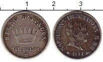 Изображение Монеты Европа Италия 10 сольди 1811 Серебро VF