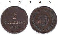 Изображение Монеты Европа Швеция 1/2 скиллинга 1802 Медь VF