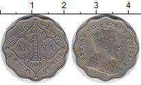 Изображение Монеты Азия Индия 1 анна 1910 Медно-никель XF