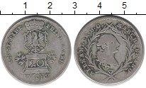 Изображение Монеты Германия Бранденбург 20 крейцеров 1765 Серебро VF