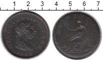 Изображение Монеты Европа Великобритания 1 пенни 1806 Медь VF
