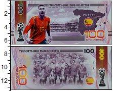 Изображение Банкноты Россия 100 рублей 0  UNC Сувенирная банкнота.