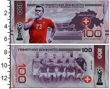 Изображение Банкноты Россия 100 рублей 2018  UNC Сувенирная банкнота.
