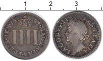 Изображение Монеты Великобритания 4 пенса 1687 Серебро XF-