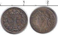 Изображение Монеты Великобритания 1 пенни 1828 Серебро Prooflike Георг IV