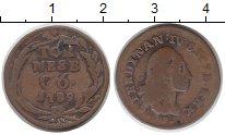 Изображение Монеты Сицилия 6 торнеси 1789 Медь VF