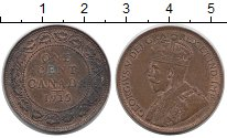 Изображение Монеты Канада 1 цент 1915 Бронза XF-