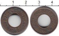 Изображение Монеты Азия Индия 1 пайса 1944 Бронза XF