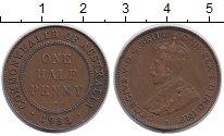 Изображение Монеты Австралия 1/2 пенни 1933 Бронза XF Георг V