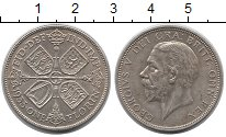 Изображение Монеты Европа Великобритания 1 флорин 1933 Серебро XF