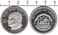 Изображение Монеты Африка Либерия 5 долларов 2003 Серебро Proof-