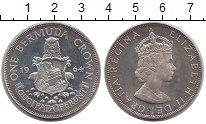 Изображение Монеты Великобритания Бермудские острова 1 крона 1964 Серебро UNC-