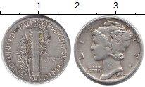 Изображение Монеты США 1 дайм 1944 Серебро XF-