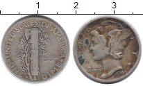 Изображение Монеты США 1 дайм 1944 Серебро XF- S