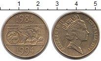 Изображение Монеты Австралия 1 доллар 1994 Латунь UNC-