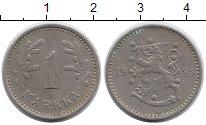 Изображение Монеты Европа Финляндия 1 марка 1933 Медно-никель XF