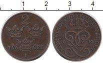 Изображение Монеты Швеция 2 эре 1913 Бронза XF