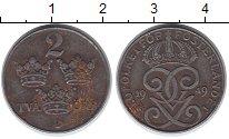 Изображение Монеты Европа Швеция 2 эре 1949 Железо XF