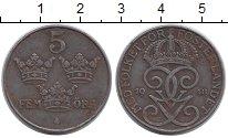 Изображение Монеты Европа Швеция 5 эре 1948 Железо XF