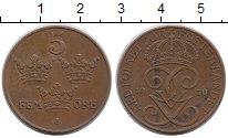 Изображение Монеты Европа Швеция 5 эре 1950 Бронза XF