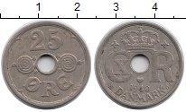 Изображение Монеты Дания 25 эре 1940 Медно-никель XF