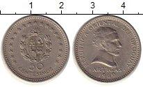 Изображение Монеты Южная Америка Уругвай 50 сентесим 1960 Медно-никель XF