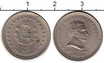 Изображение Монеты Уругвай 25 сентесимо 1960 Медно-никель XF
