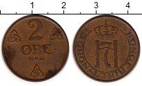 Изображение Монеты Норвегия 2 эре 1914 Бронза XF