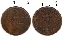 Изображение Монеты Норвегия 2 эре 1921 Бронза XF