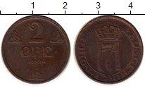 Изображение Монеты Норвегия 2 эре 1934 Бронза XF Хокон VII