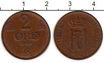 Изображение Монеты Норвегия 2 эре 1937 Бронза XF Хокон VII