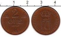 Изображение Монеты Норвегия 2 эре 1940 Бронза XF