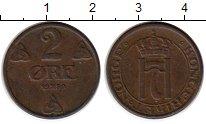 Изображение Монеты Норвегия 2 эре 1950 Бронза XF