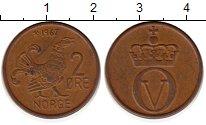 Изображение Монеты Норвегия 2 эре 1967 Бронза XF