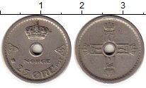 Изображение Монеты Норвегия 25 эре 1927 Медно-никель XF