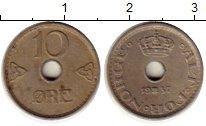 Изображение Монеты Норвегия 10 эре 1937 Медно-никель XF