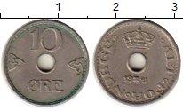 Изображение Монеты Европа Норвегия 10 эре 1941 Медно-никель XF