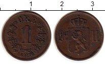 Изображение Монеты Европа Норвегия 1 эре 1876 Медь XF