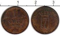 Изображение Монеты Норвегия 1 эре 1940 Бронза XF